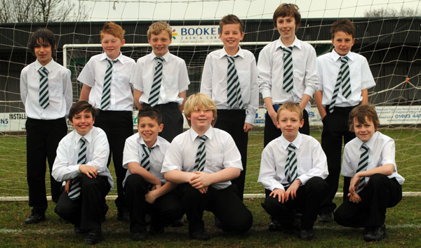 Under 11 Falcons Shied Winners 2010