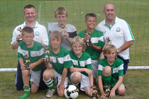 U11a Dereham 6-a-side 2010 winners