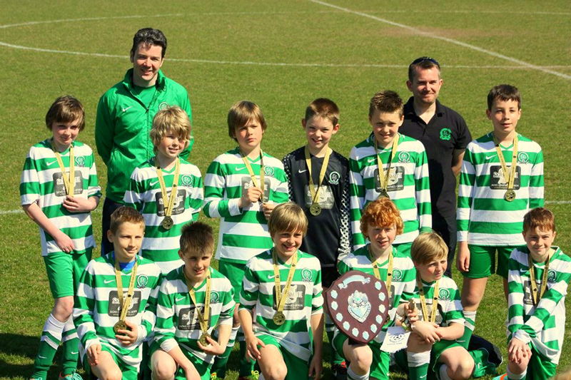 Under 11 Falcons, Shield winners