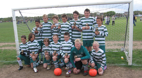 The Under 12 Cup Winners