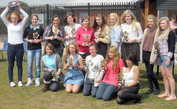 Gorleston Rangers Under 14 Girls - League Winners