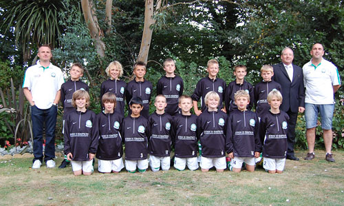 The Under 11a Team