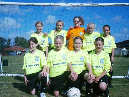 The Gorleston Rangers Under 11 Girls Team