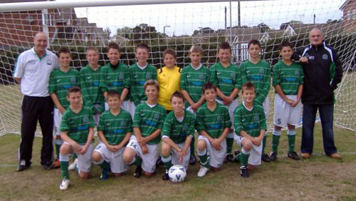 The Under 13a team