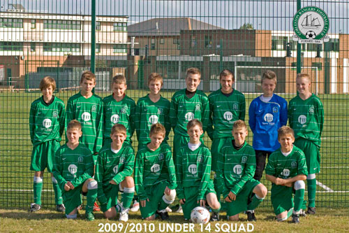 The Under14a Team