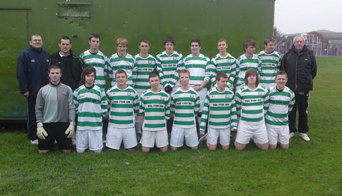 The Gorleston Rangers U17 Team