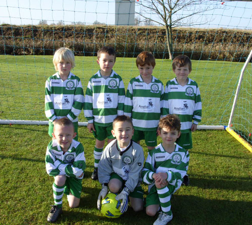 The Gorleston Rangers Under 7C Team