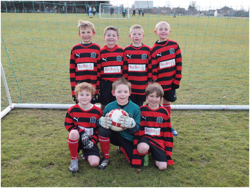 The Gorleston Rangers U8b Team