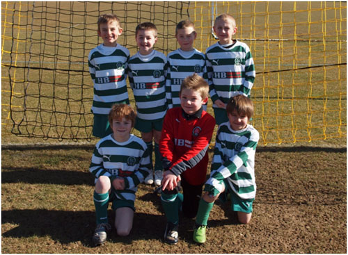 The Gorleston Rangers Under 8b Team