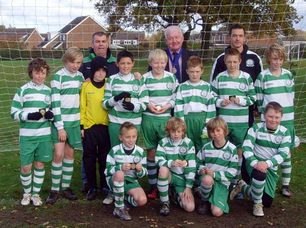 The Gorleston Rangers U12b Team