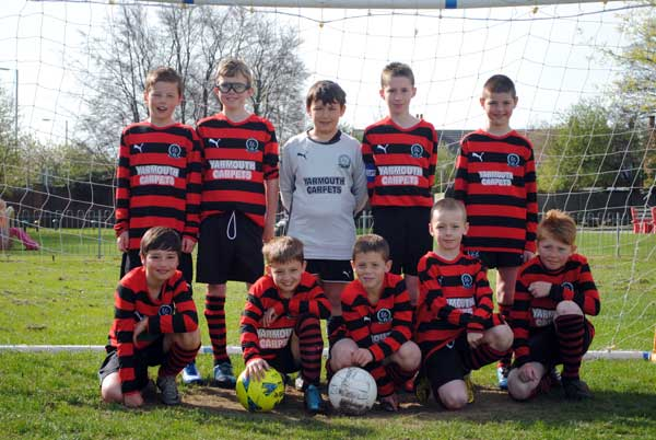 The Under 10a Team