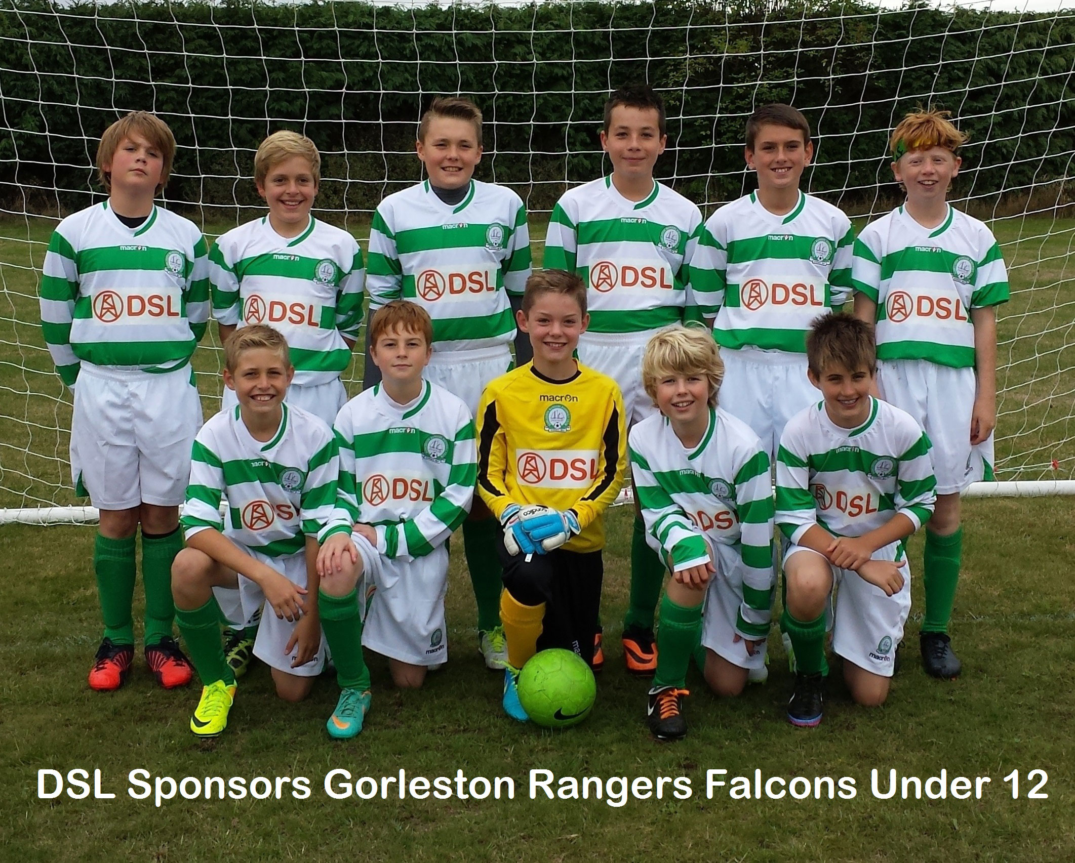 Gorleston Rangersnder 12 Falcons