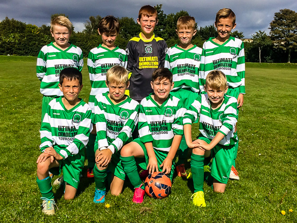 The Under 11 Falcons Team