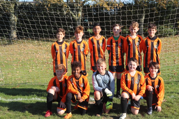 U12 Falcons away