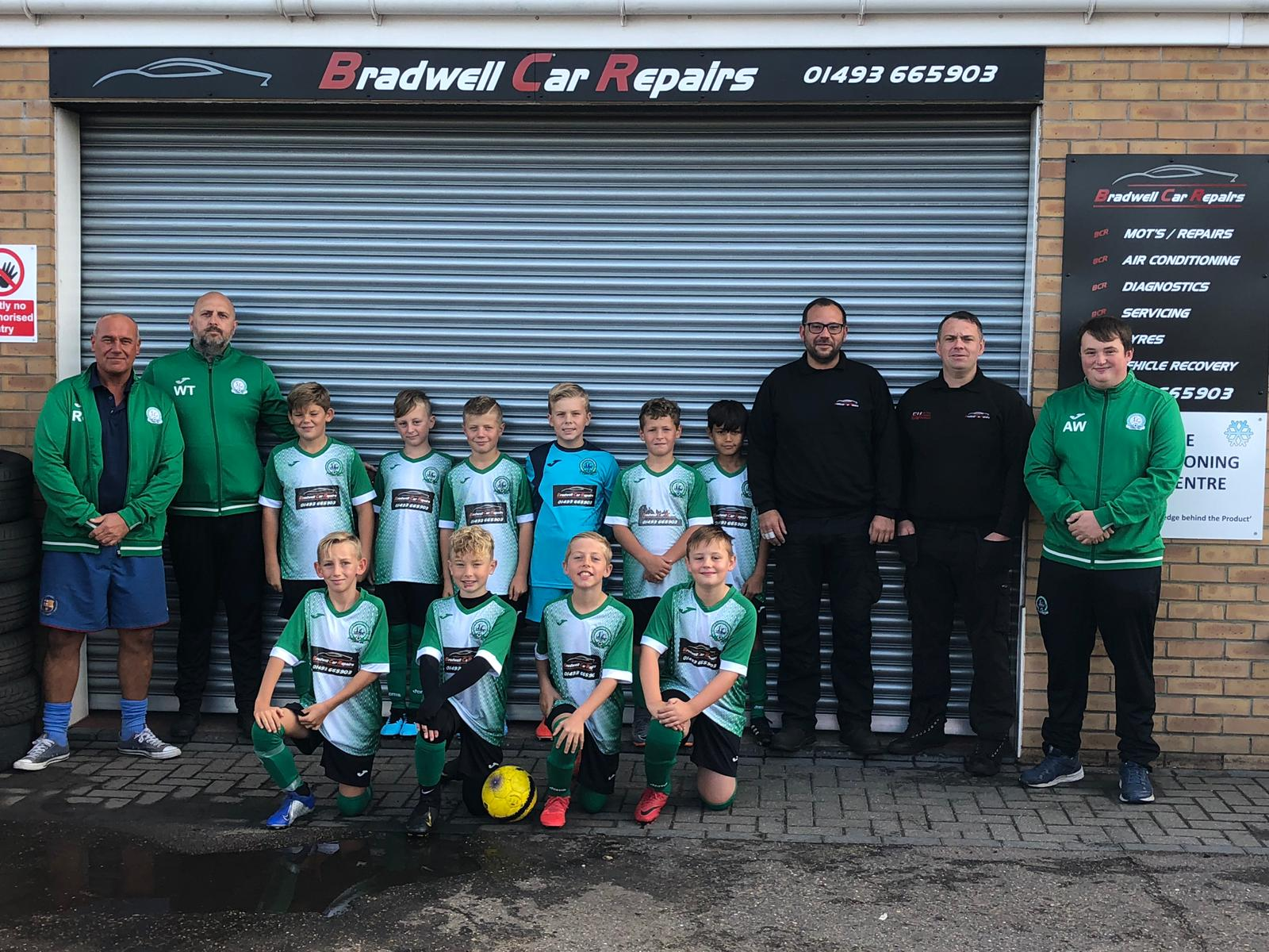 U10 Falcons team sponsor