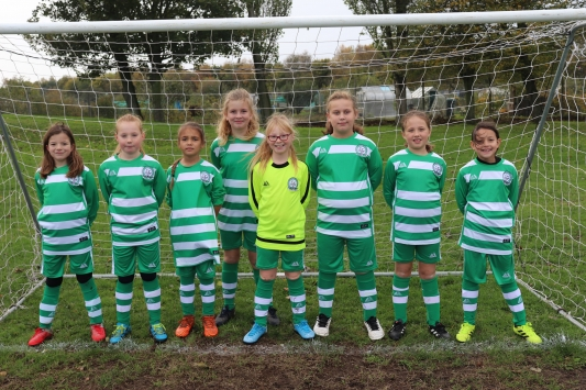 U10 Girls team