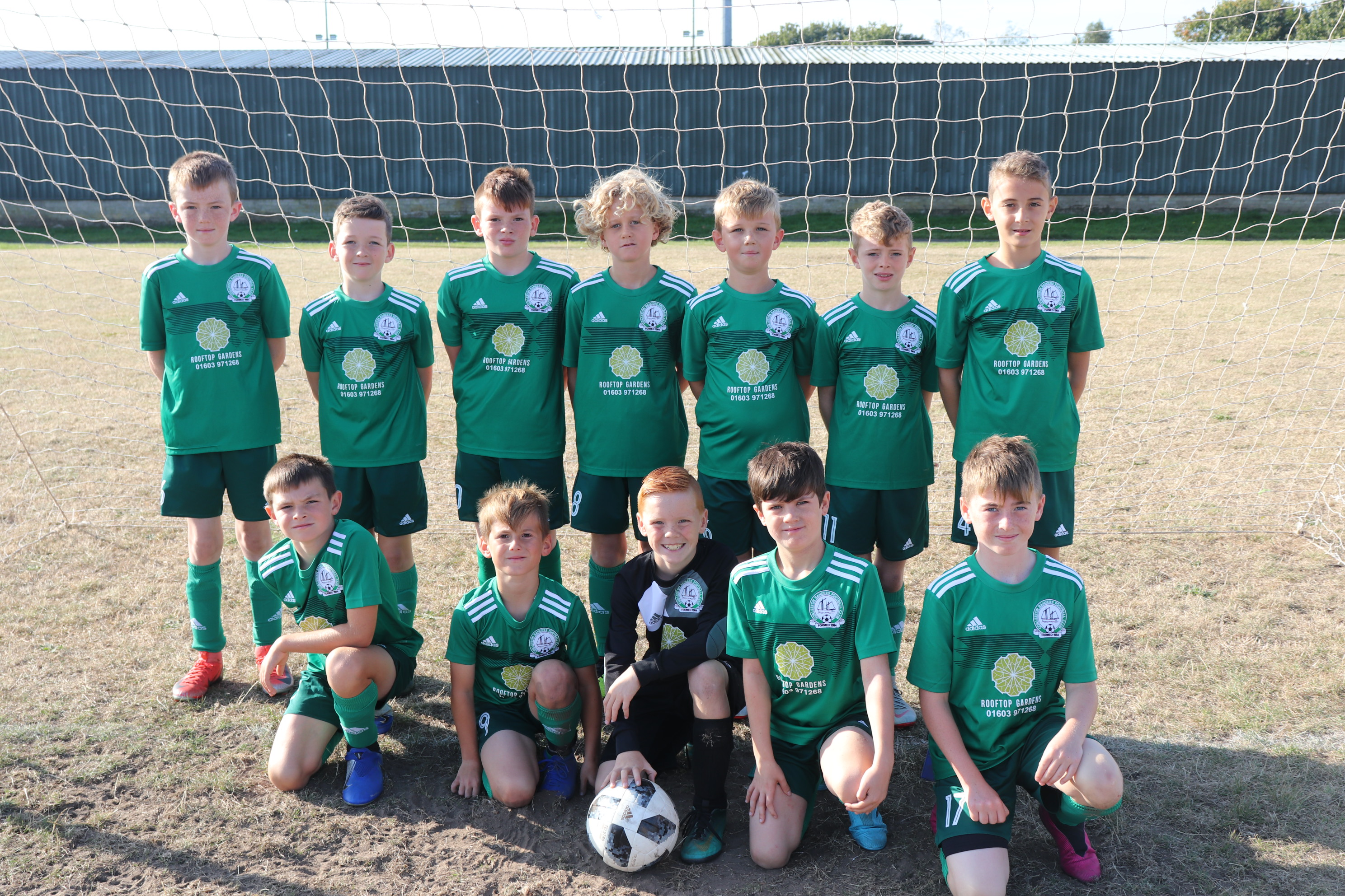 U11 Eagles Team