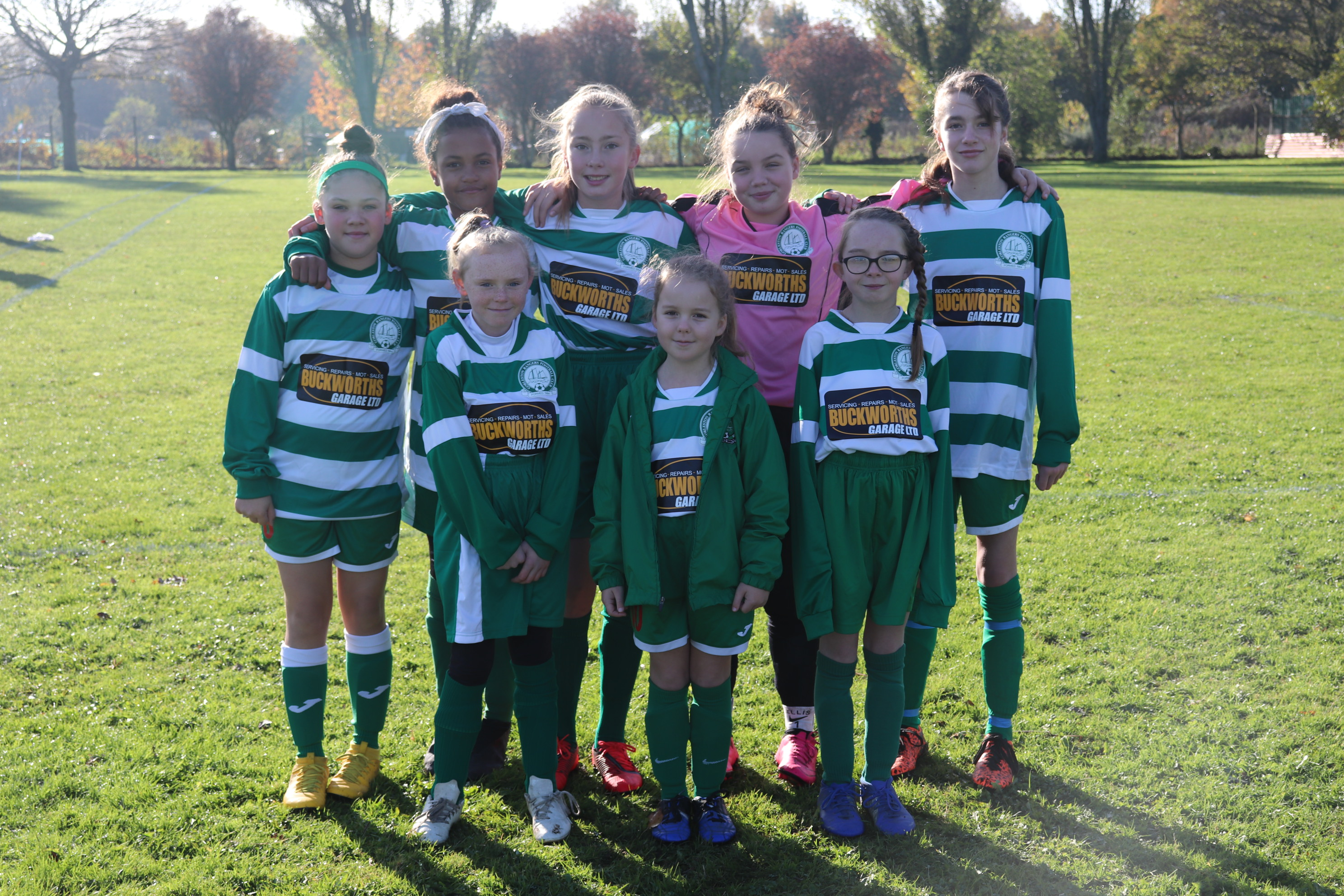 U11 Girls Eagles