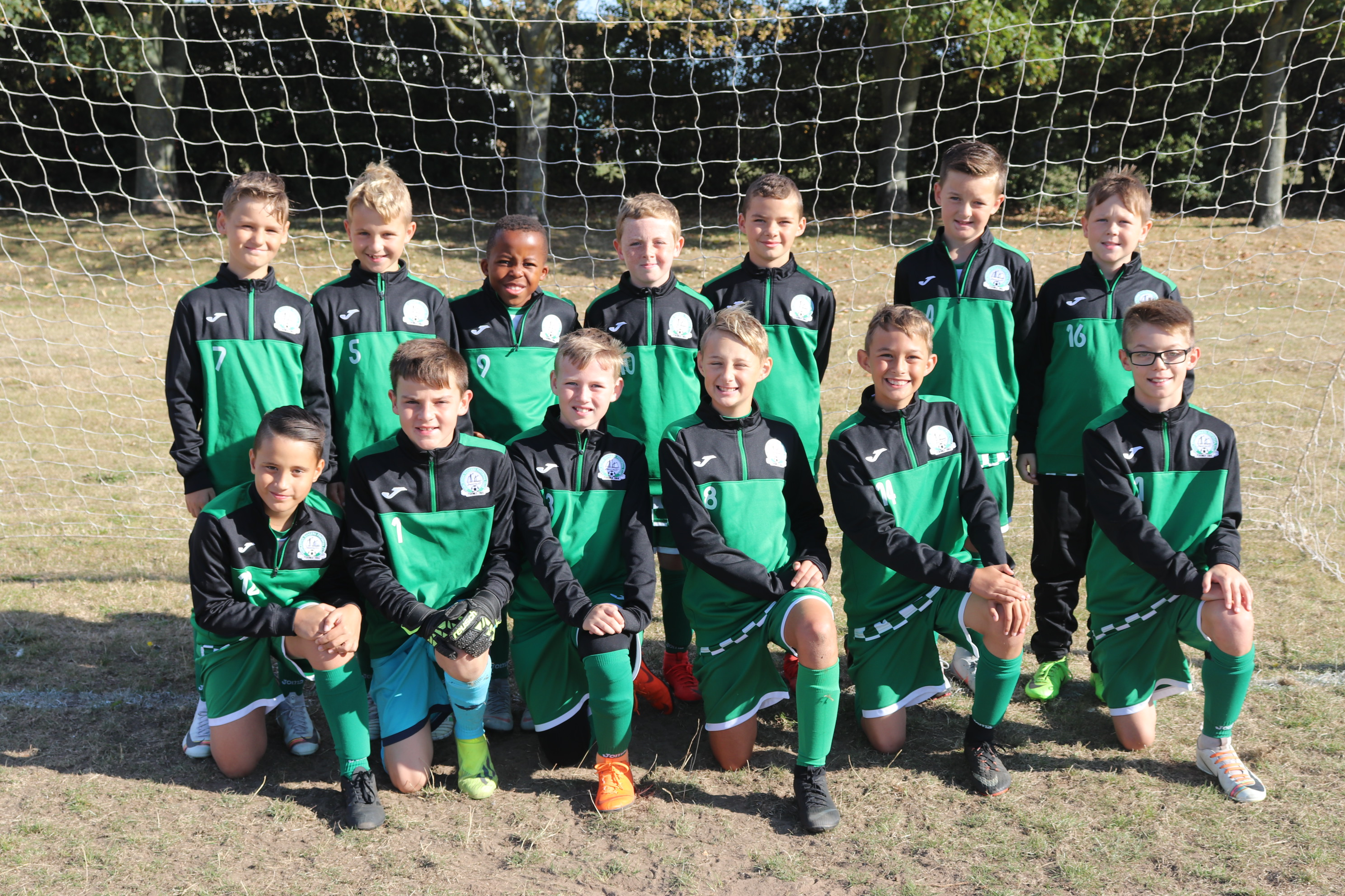 U11 Harriers Jackets