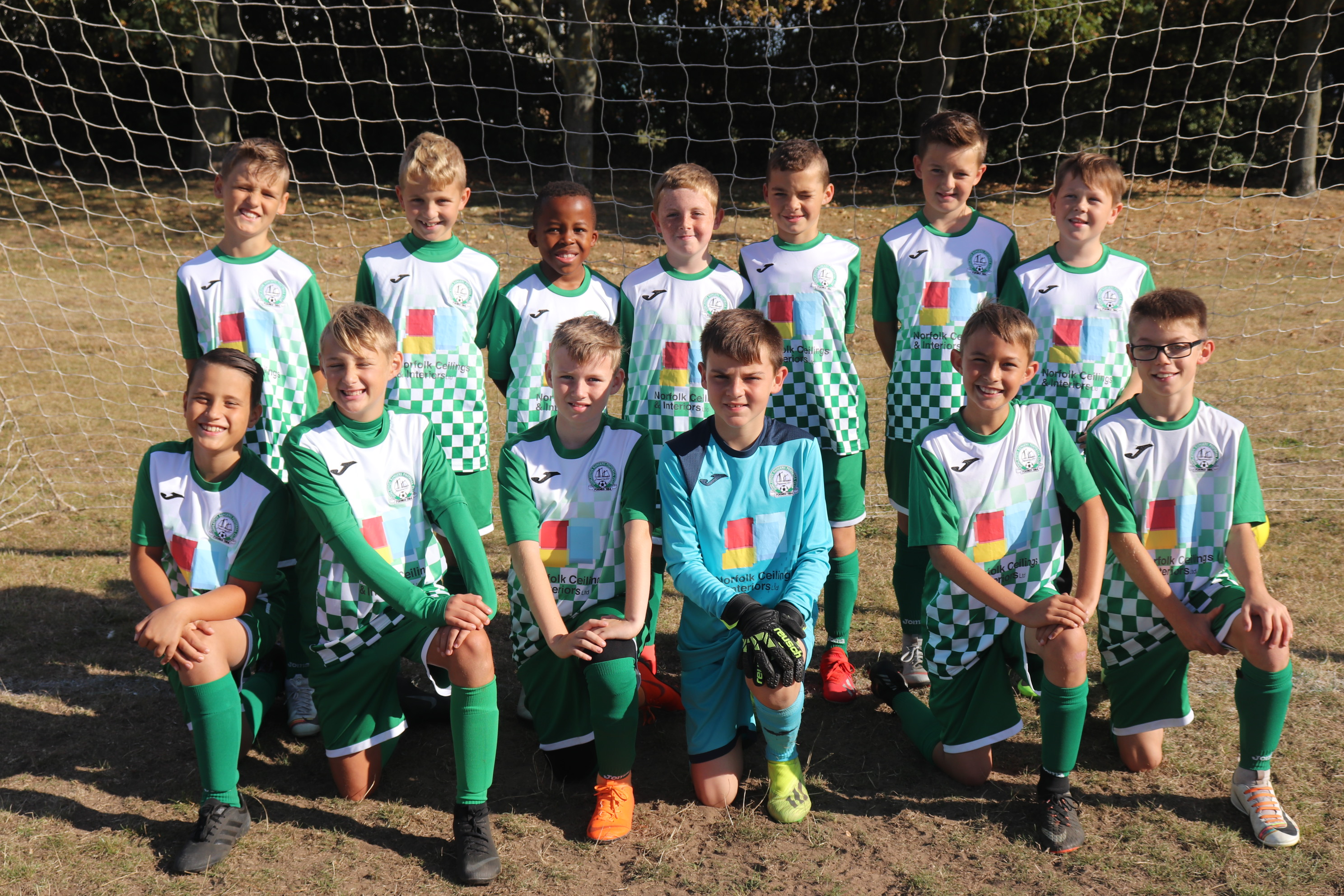 U11 Harriers Kit