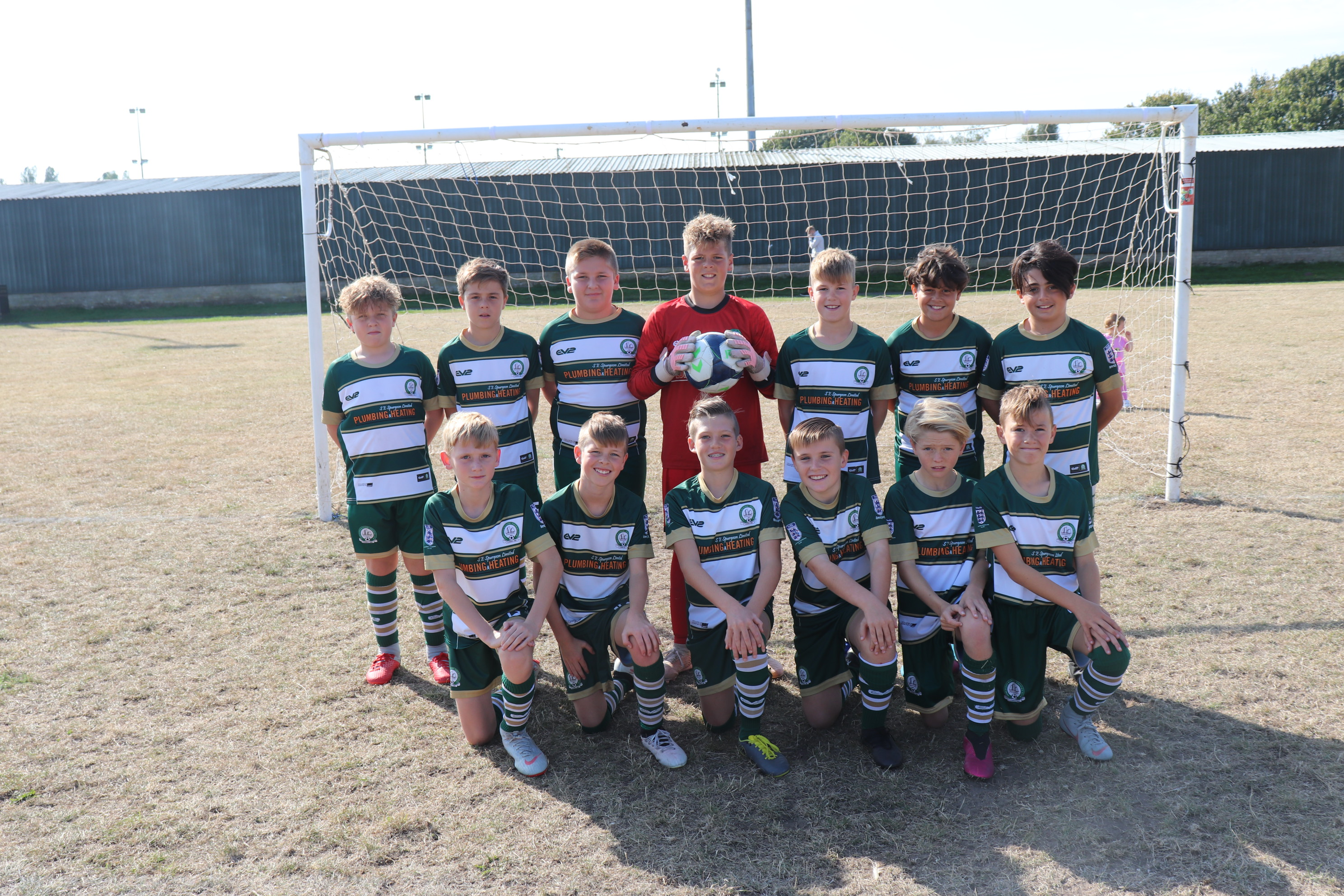 U12 Harriers Team