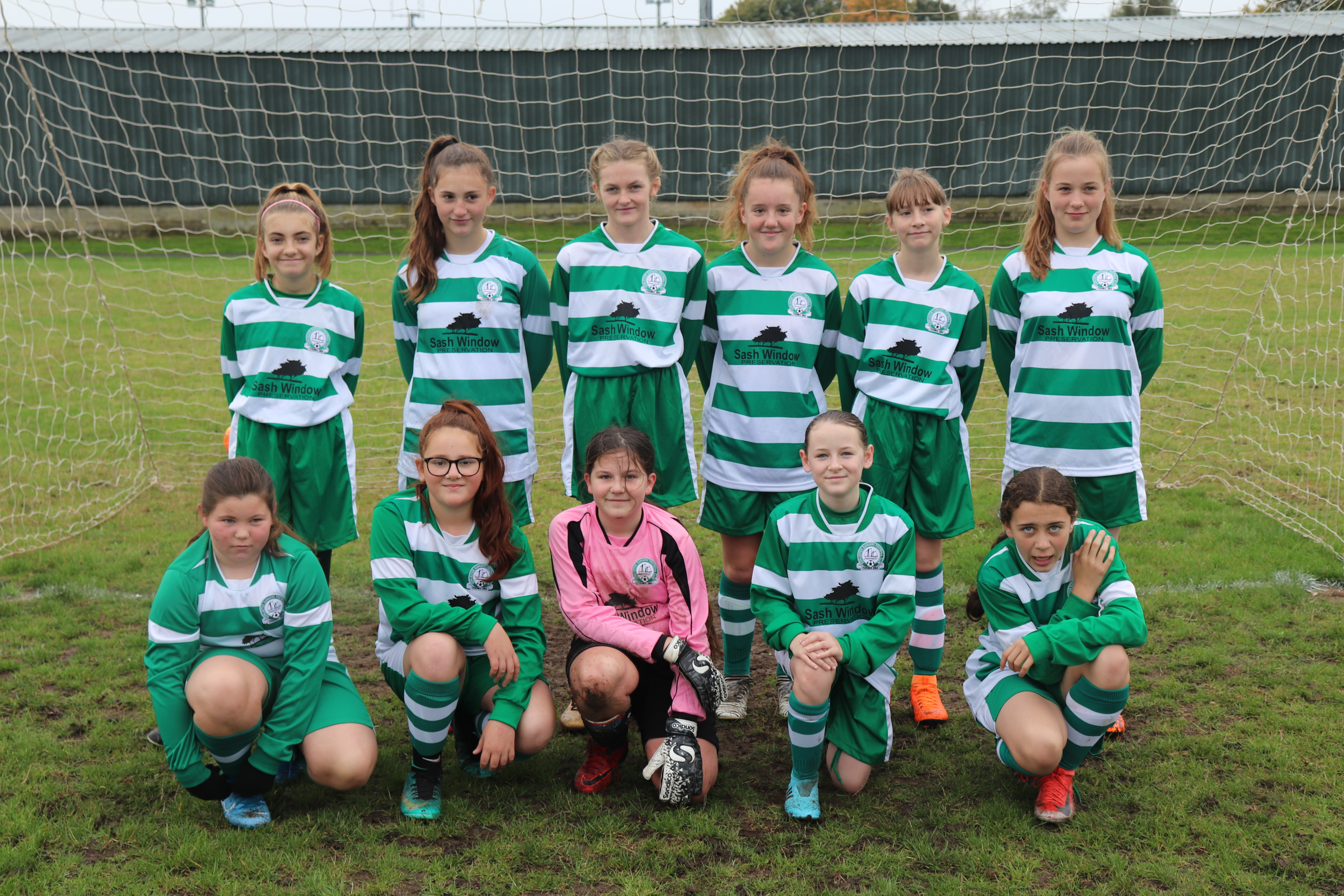 U13 Girls Eagles team