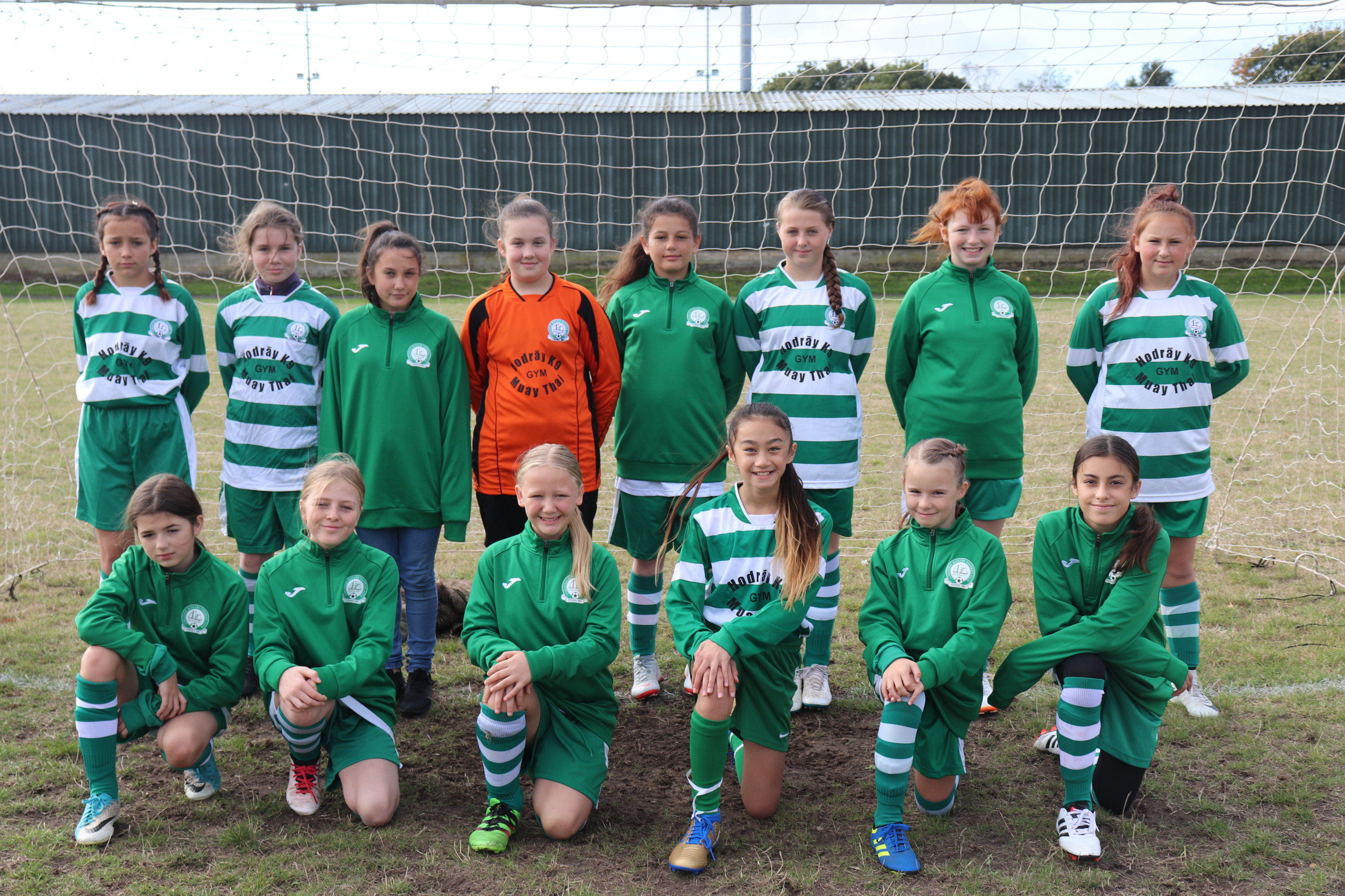 U13 Girls Falcons training jacket
