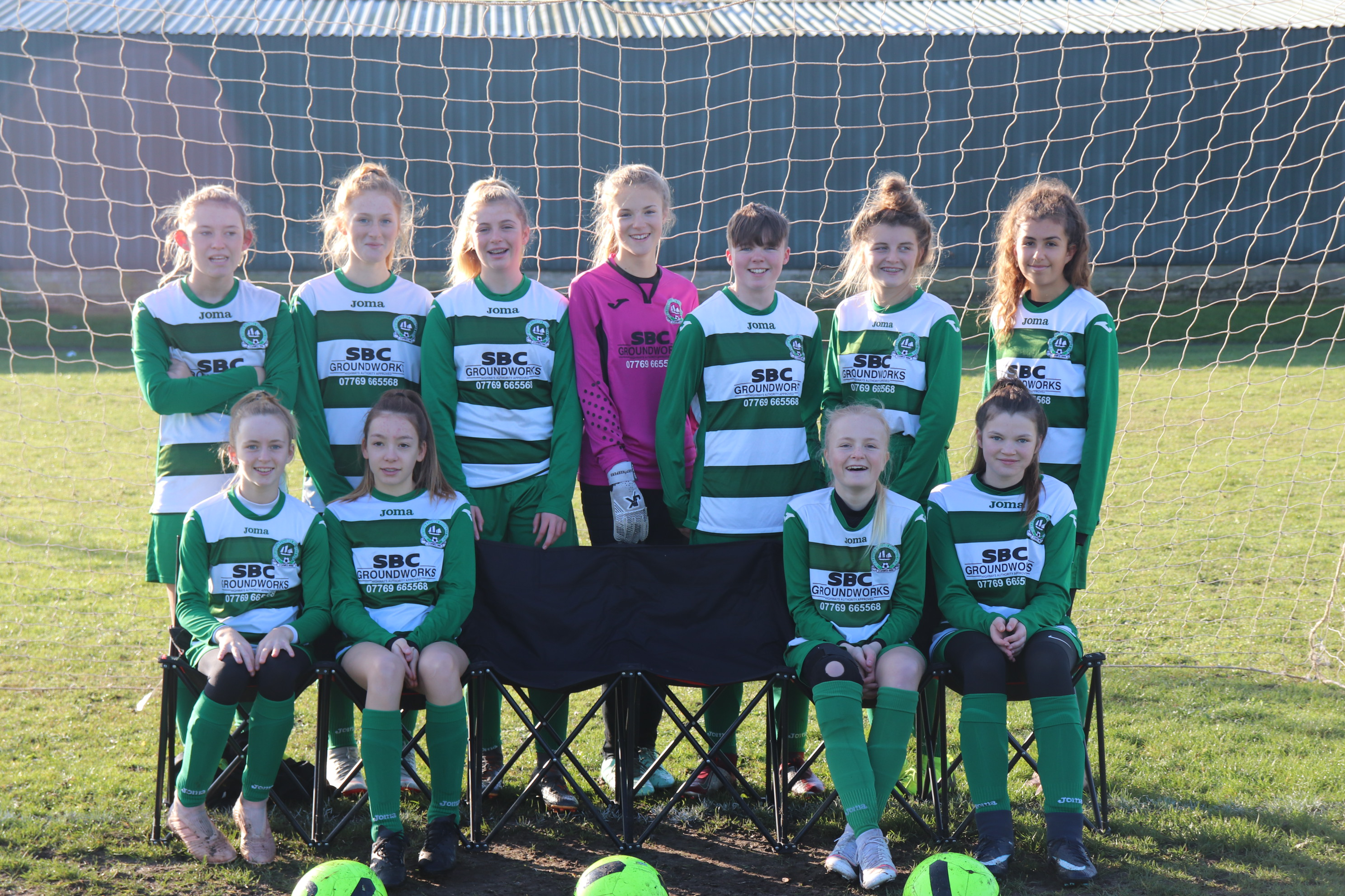 U15 Girls Team