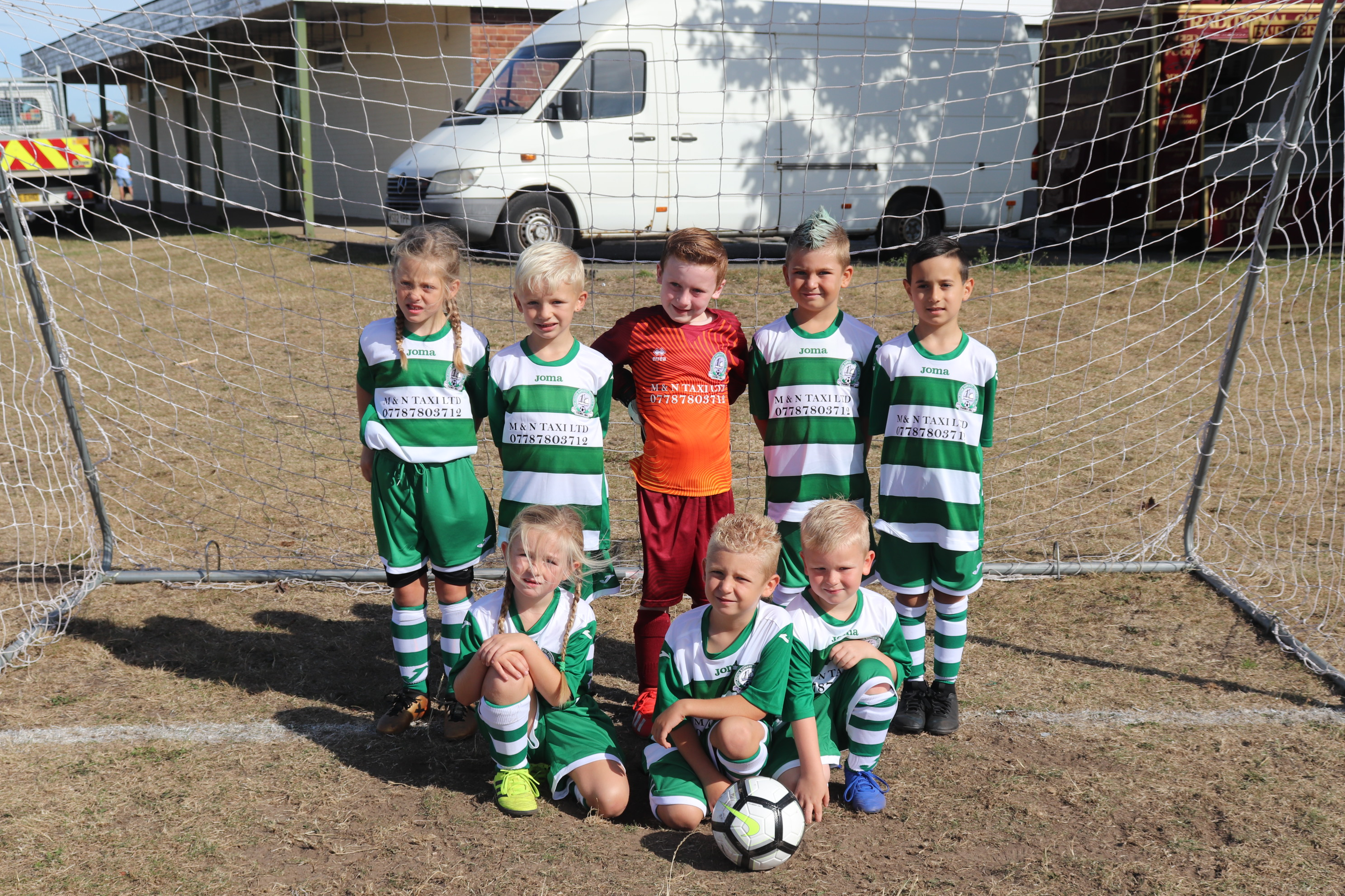 U7 Eagles Team