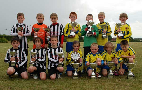 Under 9 Winners and Rnnersup