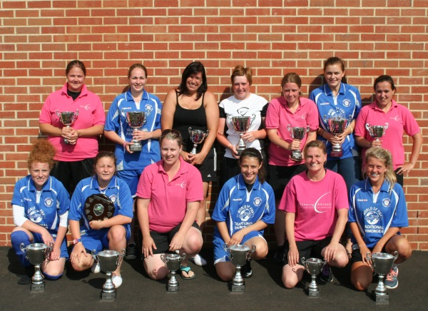 Ladies Winners and Runners Up