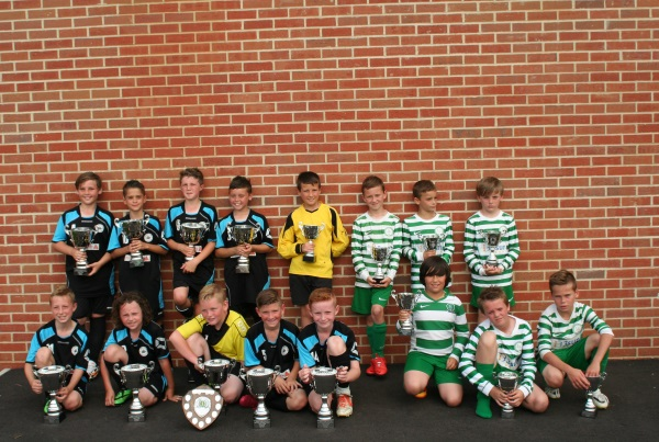 U10 Winners and Runners Up