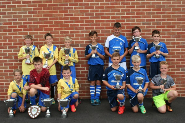 U11 Winners and Runners Up