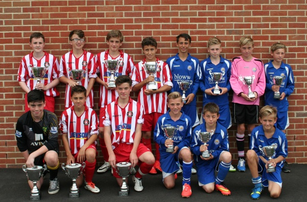 U13 Winners and Runners Up