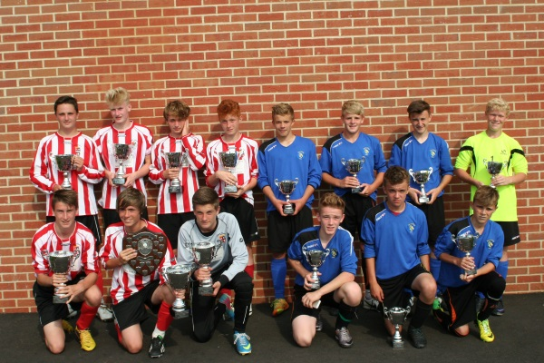 U14 Winners and Runners Up