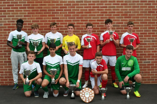 U15 Winners and Runners Up