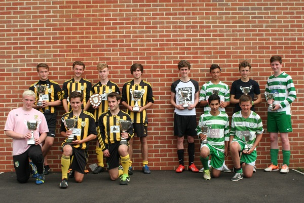 U16 Winners and Runners Up