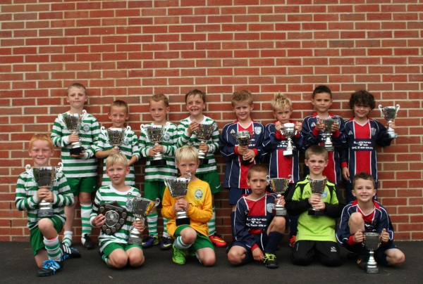 U7 Winners and Runners Up