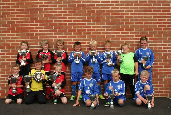 U8 Winners and Runners Up
