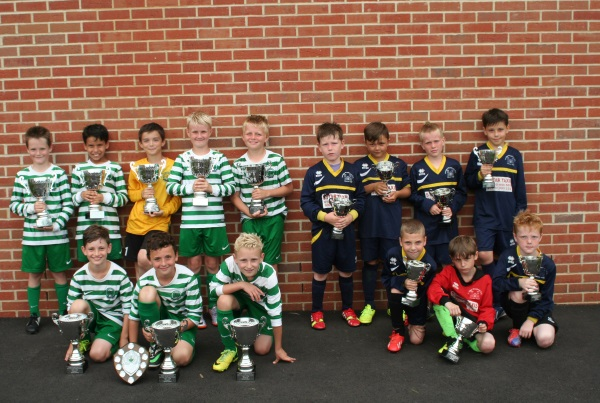 U9 Winners and Runners Up