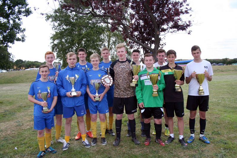 U16 Winners Horsford and Runners Up Old Catton