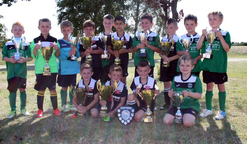 U7 Winners Cottesey and Runners Up Horsford